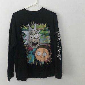 Rick and Morty long sleeve